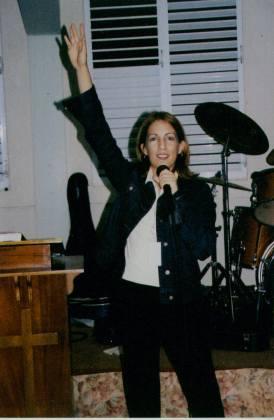 2003 - Dirigiendo un campamento de Jóvenes